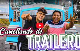 VIDEO: Kike Jav desde Riobamba hasta Quito en trailer | Un día CAMELLANDO de TRAILERO