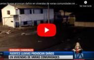 🔴 VIDEO: Fuertes lluvias provocan daños en viviendas de varias comunidades en Riobamba
