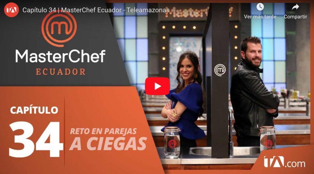 Video: Capítulo 34   MasterChef Ecuador