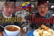 🔴 VIDEO | Popular YouTuber de Corea del Sur Prueba la Comida Típica de Riobamba