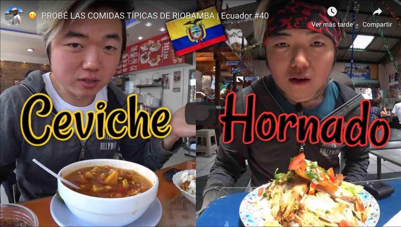 Comida tipica de riobamba