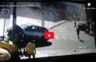 VIDEO | Tres personas estuvieron a punto de MORIR atropelladas en GUANO, provincia del Chimborazo