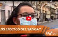 VIDEO | Caída de ceniza en RIOBAMBA por erupción del volcán Sangay