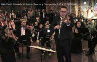 VIDEO |   LAS 4 ESTACIONES DE VIVALDI - Galo David Arboleda Acompañado por la Orquesta de Cámara Andante del Municipio de Riobamba