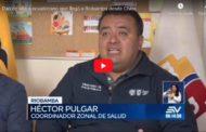 VIDEO | Dan de alta a ecuatoriano que llegó a Riobamba desde China