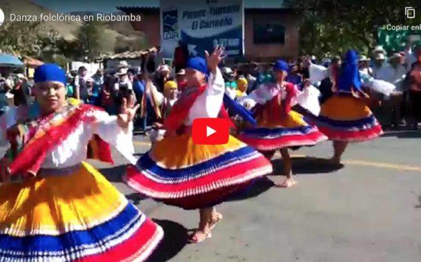 VIDEO | Danza folclórica en Riobamba
