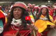 VIDEO | Así es el ENTIERRO de la fiesta de CARNAVAL en Guamote.