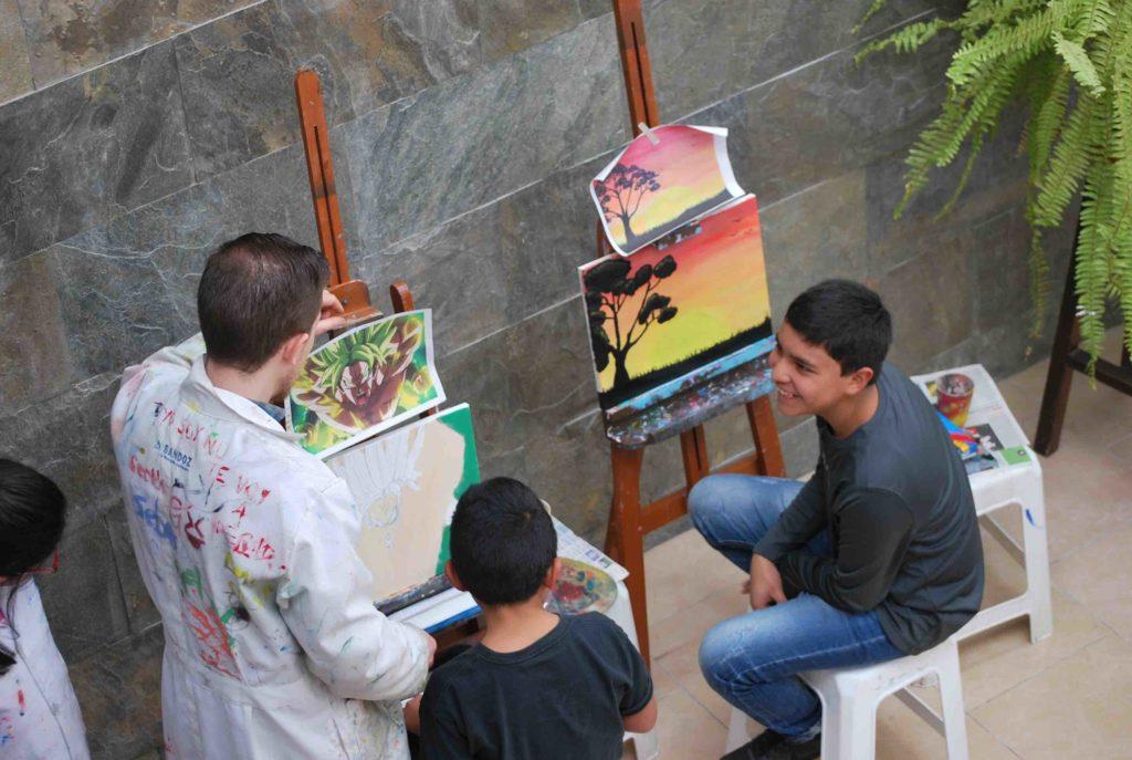 cursos pintura riobamba