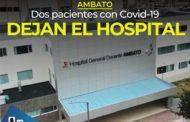 URGENTE: Un ciudadano extranjero y un ecuatoriano se han recuperado y fueron dados de alta