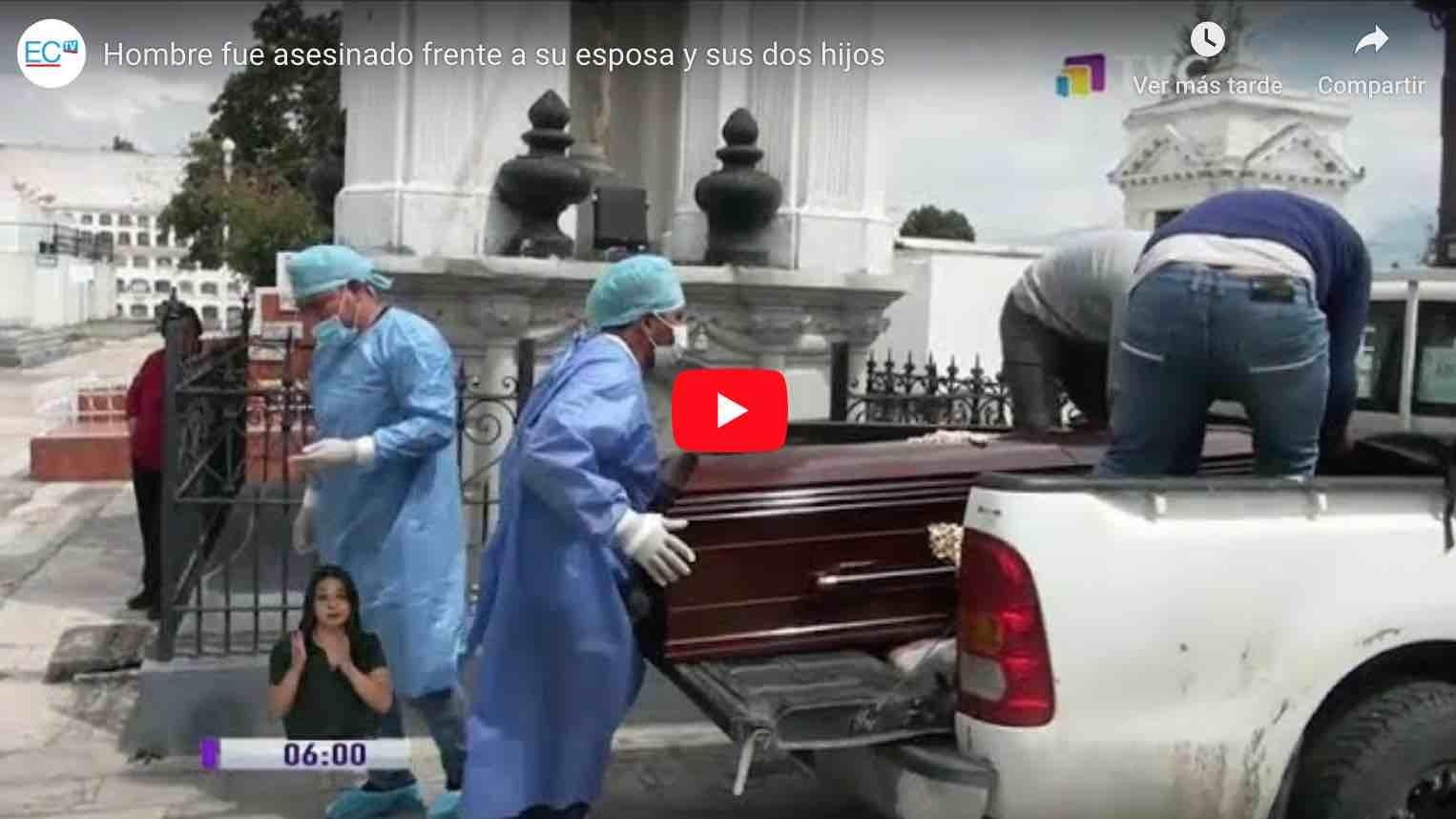 Photo of VIDEO   Hombre fue asesinado frente a su esposa y sus dos hijos en Cumandá.
