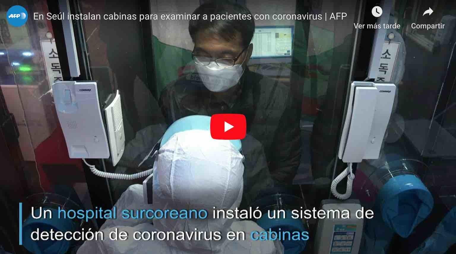 Photo of Video: 😲 ¡INCREÍBLE! En Seúl, instalan 'cabinas telefónicas' para examinar a pacientes con Coronavirus