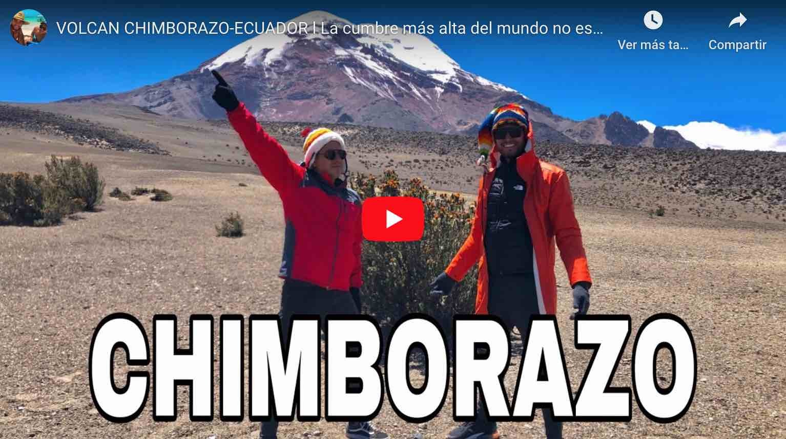 Photo of CHIMBORAZO como llegar | como ir – Blog de un viaje (VIDEO)