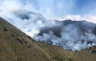 ATENCIÓN | En Chambo, provincia de Chimborazo, se produce un incendio forestal