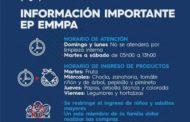 RIOBAMBA: El Municipio comunica que el domingo y lunes no habrá atención en los mercados.