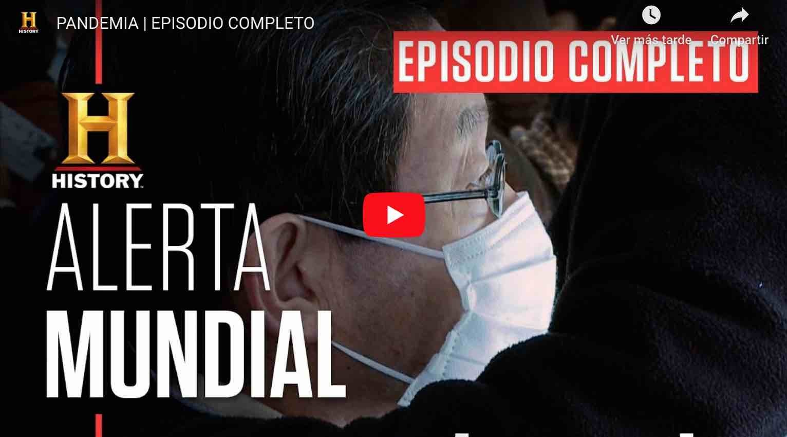 Photo of Video: PANDEMIA | EPISODIO COMPLETO – History