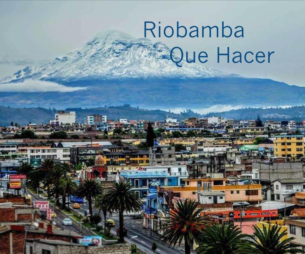 riobamba que visitar