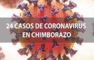 ASCIENDEN a 24 los casos de COVID19 en Chimborazo
