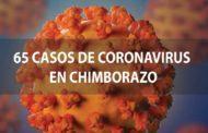 Ascienden a 65 los casos de Covid19 confirmados en Chimborazo