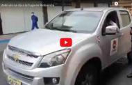 VIDEO: Conductor se da a la FUGA de manera muy peligrosa en Riobamba, tras evadir control policial.
