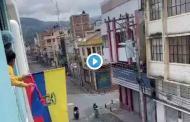 VIDEO: Por FIESTAS de abril, los riobambeños se dieron forma de NO perder la tradición.