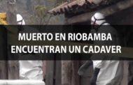 VIDEO: MUERTO en Riobamba, encuentran cadaver de joven.