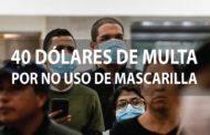 URGENTE| Riobamba SANCIONARÁ a personas que NO utilicen Mascarilla