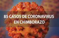 SUBEN a 85 los casos de Covid19 confirmados en Chimborazo