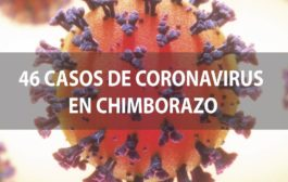 VIDEO: SUBEN a 46 casos de COVID en CHIMBORAZO