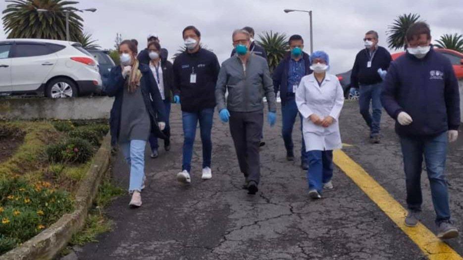 ministro de salud en riobamba