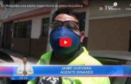 VIDEO: En Riobamba una adulta mayor murió en plena vía publica el día de ayer.