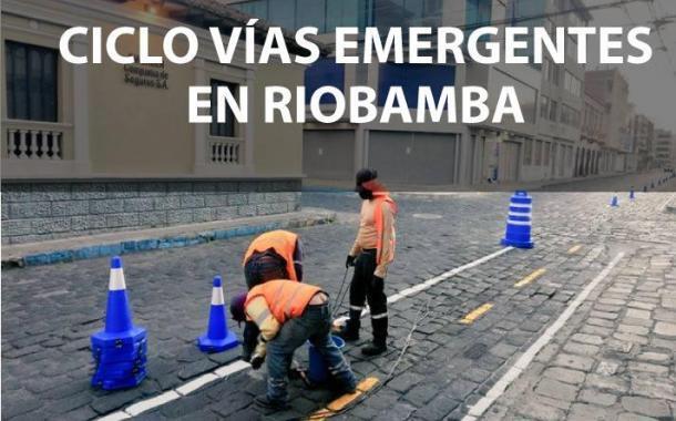 VIDEO: Ciclovías en Riobamba, avanzan con la adecuación.