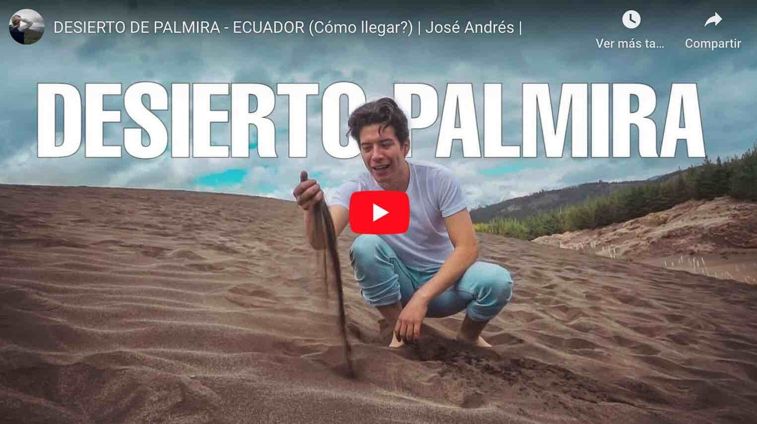 VIDEO: Conoce el Desierto Palmira en Chimborazo
