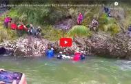 VIDEO: HOY el cuerpo si vida de un adolescente de 16 años fue encontrado en un río en Guamote.
