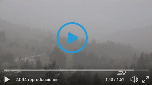 VIDEO: GRAVES afectaciones en Chimborazo debido a la ceniza.