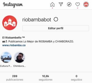 instagram riobambeño