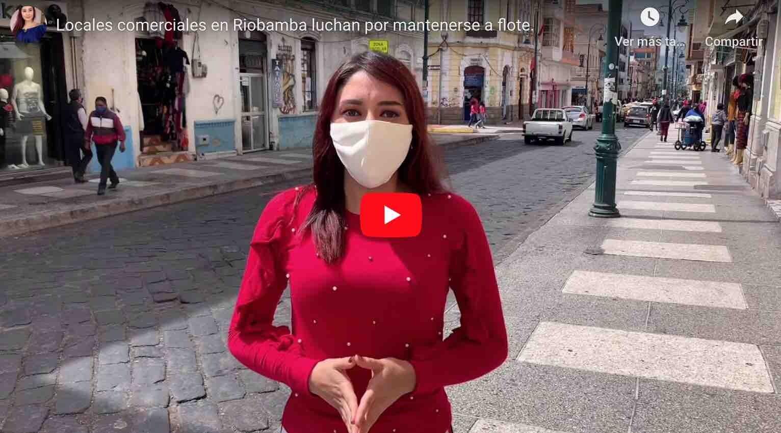 Photo of VIDEO: Locales comerciales en Riobamba luchan por mantenerse a flote.