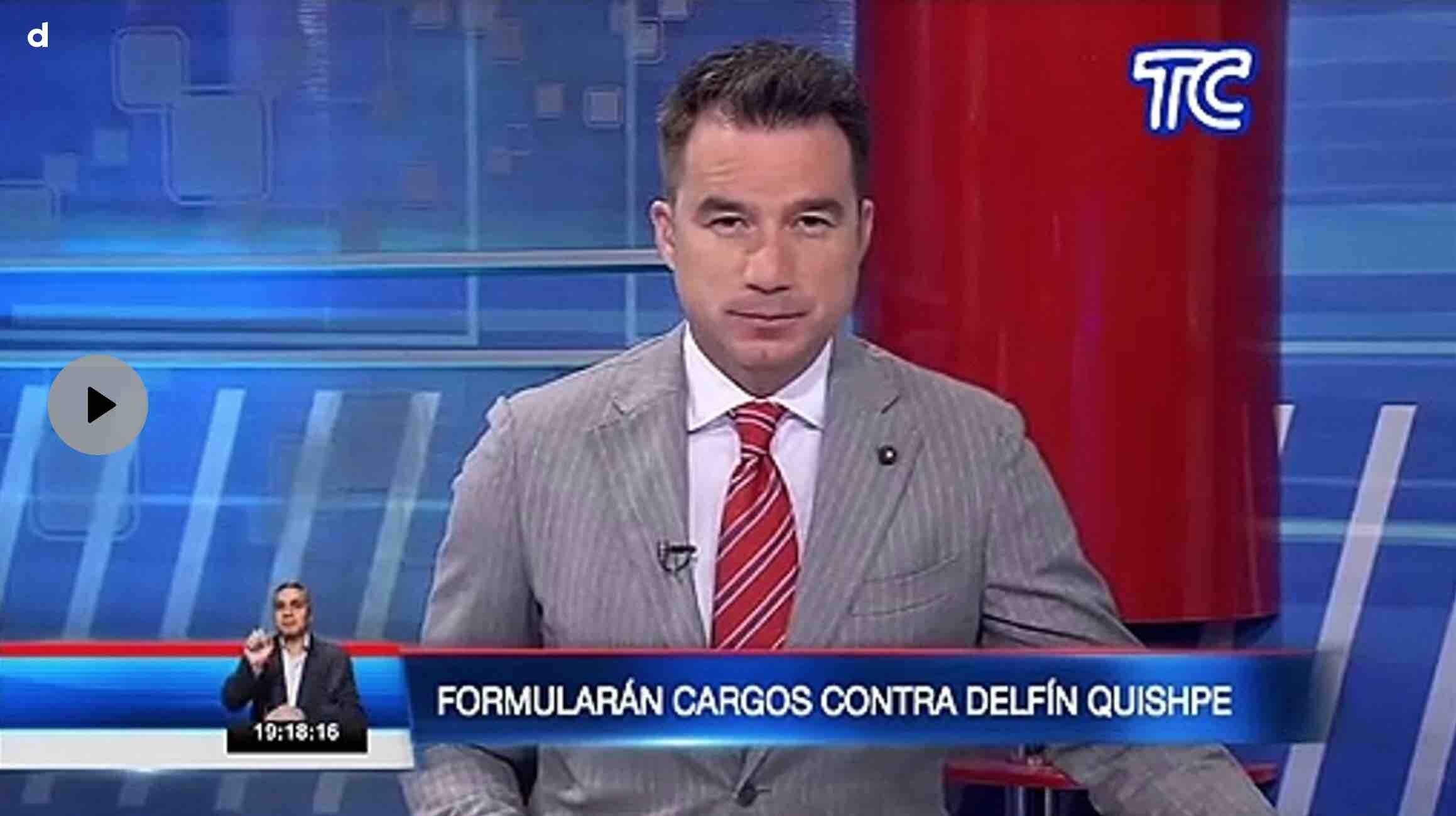 VIDEO | Este martes se llevará a cabo la audiencia de formulación de cargos contra Delfín Q. alcalde de Guamote