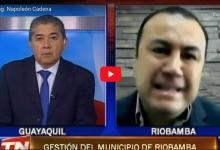 Photo of VIDEO: Entrevista al Alcalde de Riobamba Ing. Napoleón Cadena