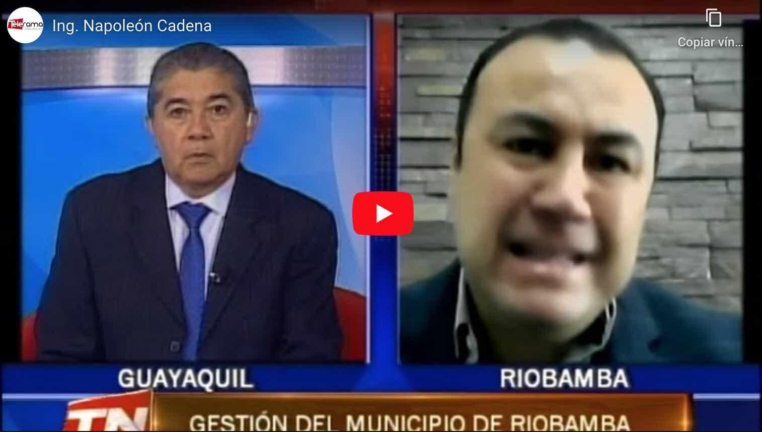 entrevista alcalde de riobamba
