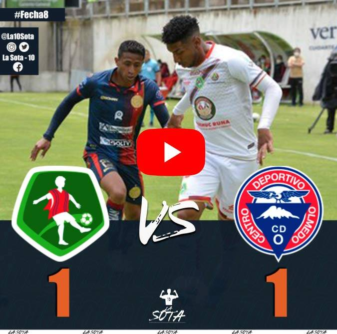 VIDEO: Mushuc Runa vs Olmedo 1-1 Resumen y Goles