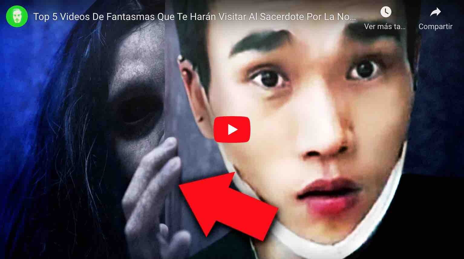 VIDEO: Top 5 Videos de Fantasmas Captados en Cámara